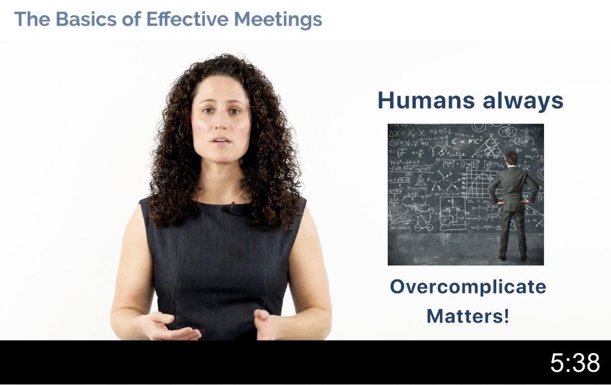 Basics of an Effective Meeting Video Thumbnail