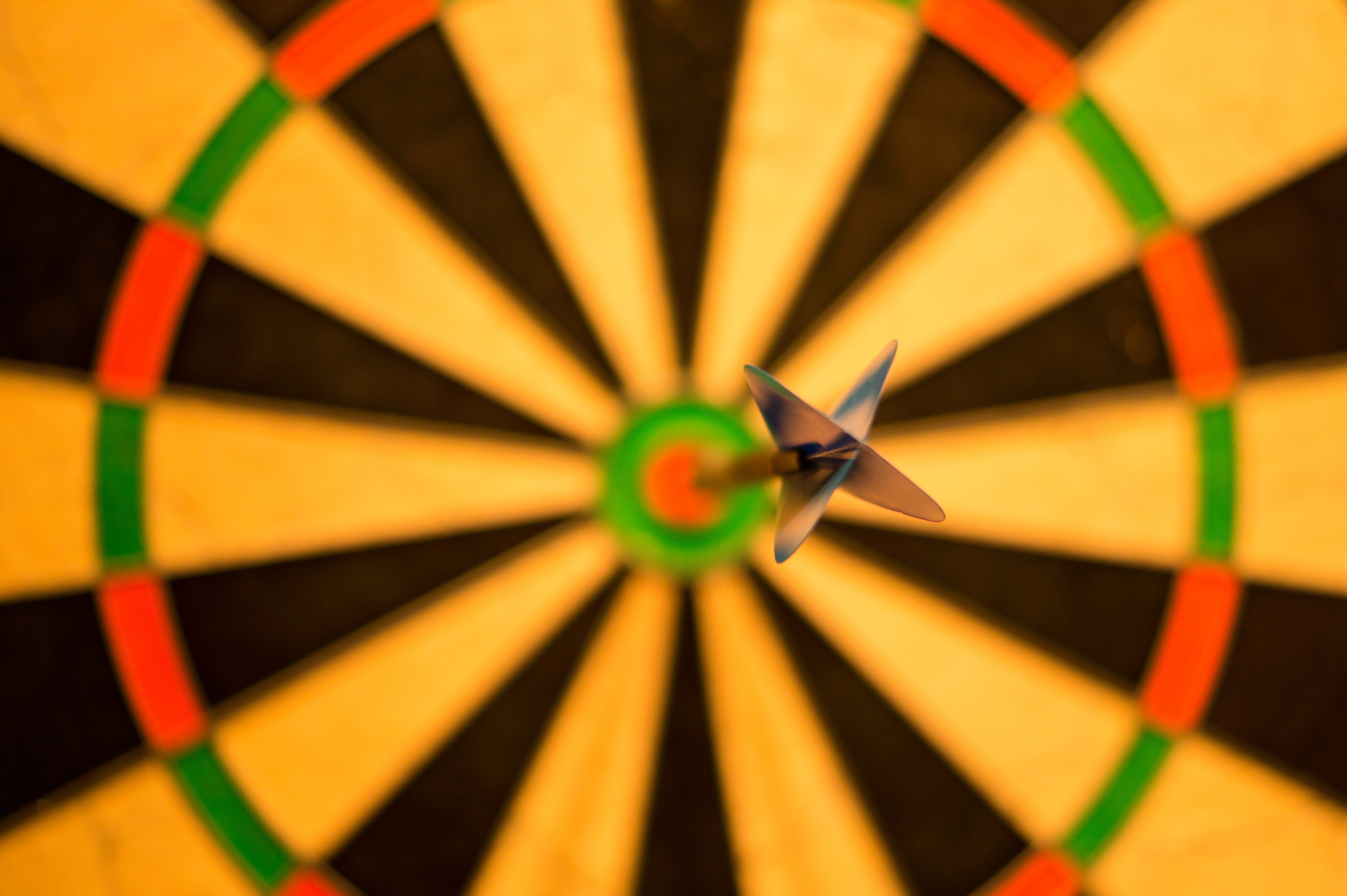 Bulls-Eye Dart Board