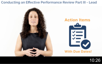 Conducting Effective Reviews Part 3 Video Thumbnail