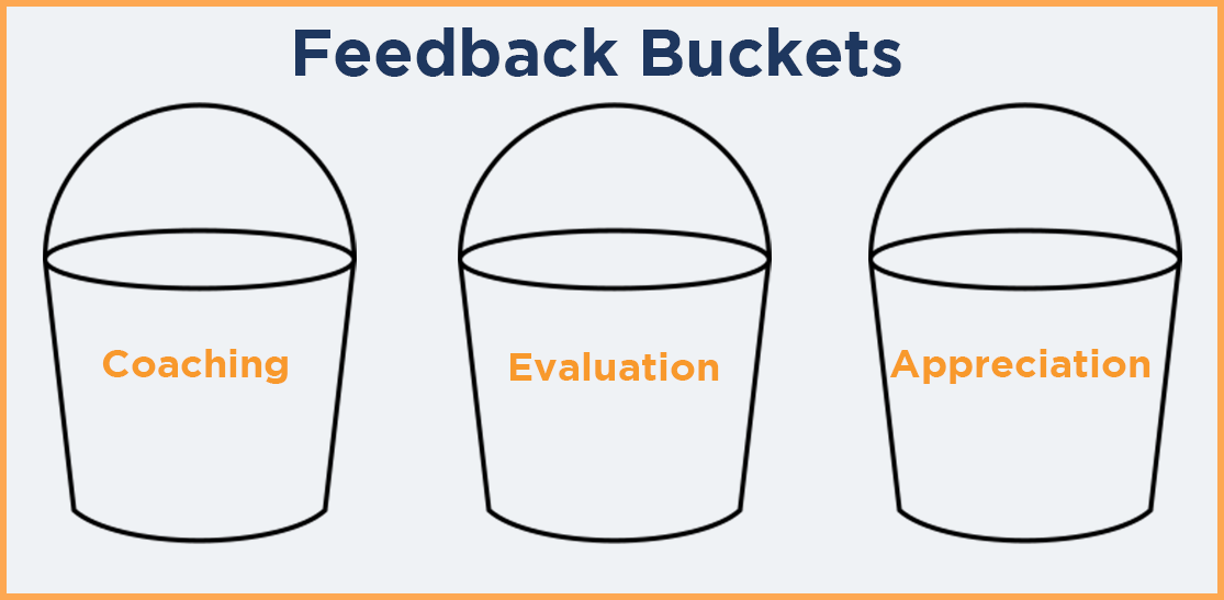 feedback buckets check-ins
