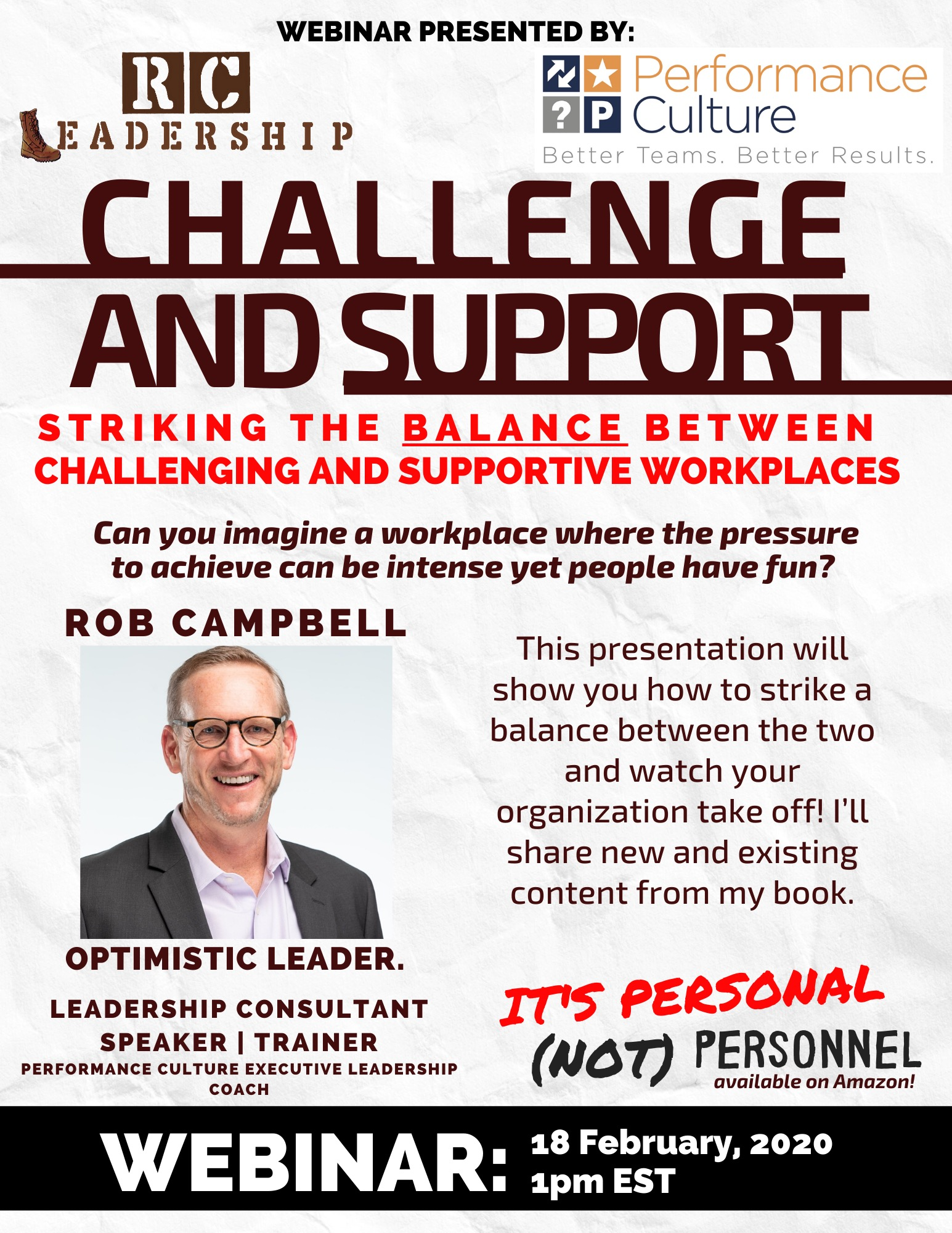 Rob Campbell Webinar Flyer