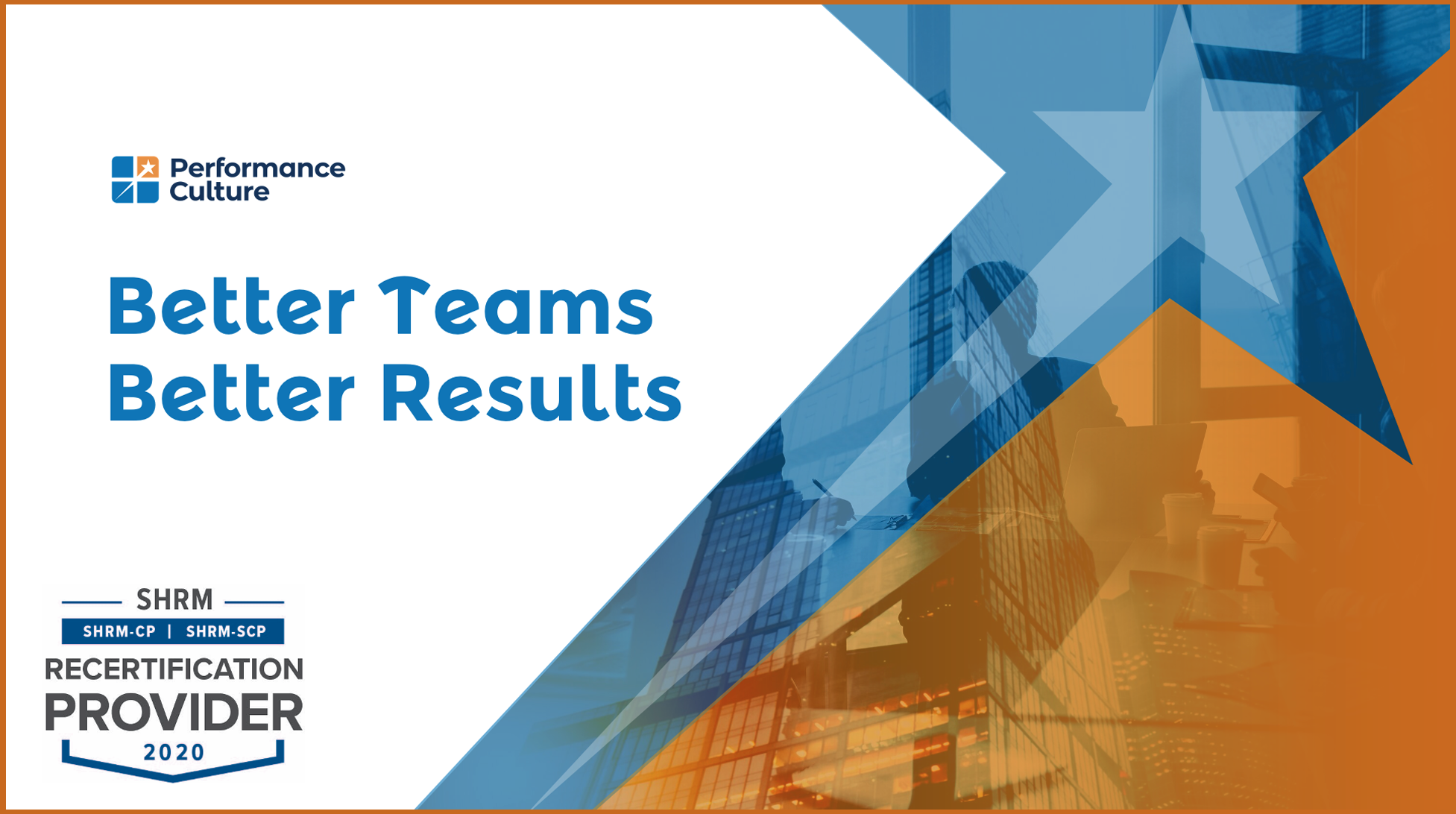 Better Teams Better Results Cover Slide